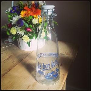 Milk Bottle from La Vie En Rose